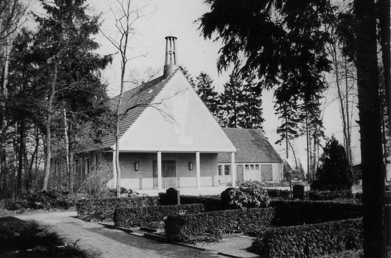 neue Friedhofskapelle 1964 1965 Foto: Prilop